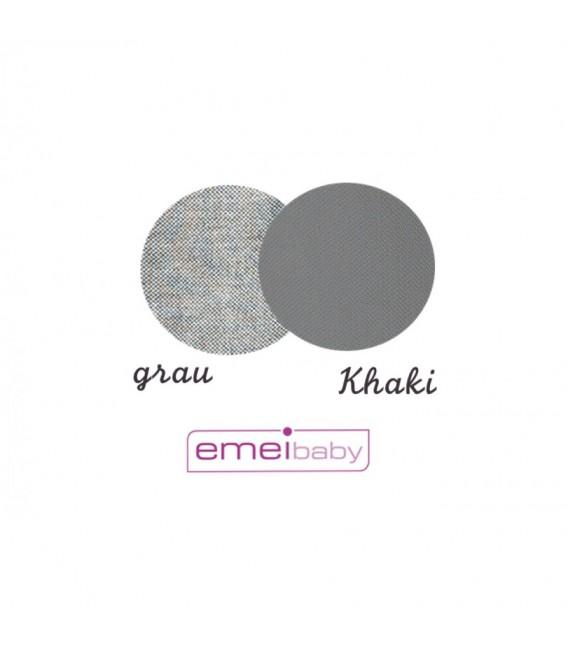 EMEIBABY GRIS Y NEGRA - MODELO BABY