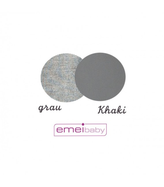 EMEIBABY GRIS Y NEGRA