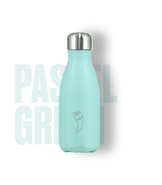 BOTELLA ISOTÉRMICA CHILLY´S 260 ML PASTEL MINT
