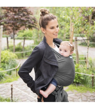MOBY WRAP BAMBÚ CHARCOAL