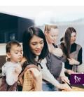 FIDELLA FLYCLICK BABY | NACIMIENTO| DIAMONDS ROJO ÓXIDO